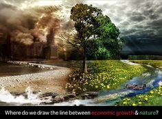 Where do we draw the line between economic growth and nature?