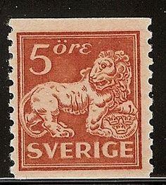 Sweden 5ö Lion [F 141b]