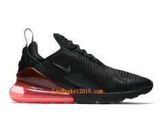 brand new 57fcf 9c925 Nike Air Max 270 Hot Punch Chaussures Officiel Basket Prix Pas Cher Pour  Homme Noir Rose