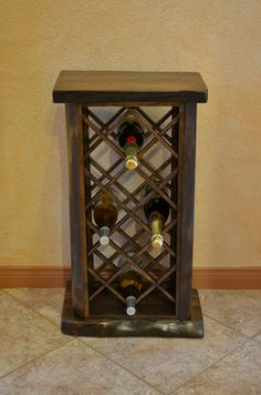 Reclaimed Wood Slab Wine Rack - slabs are available at http://www.BerkshireProducts.com