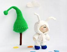 Ravelry: Small Boy Doll in the rabbit wear pattern by Tatyana Korobkova