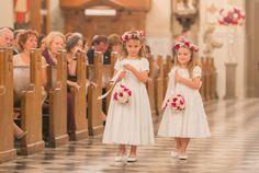 Flower Girl Dresses - Radiant Orchid Louisiana Wedding
