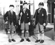 British school boy uniform
