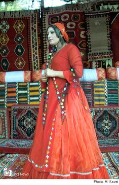 Iran/ a girl with traditional dress in Shiraz ( center of Fars State/ Iran)