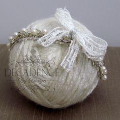 Enchanting Angel Newborn/Baby Tieback by DecadenceByDesign on Etsy, $22.00