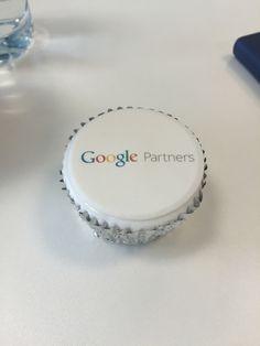 Google cupcake! #GoogleAdWords #GoogleManchester