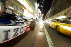 IZOD IndyCar Series takes to the streets of New York City