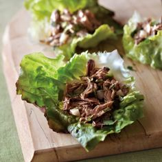 Ginger Pork in Lettuce Cups
