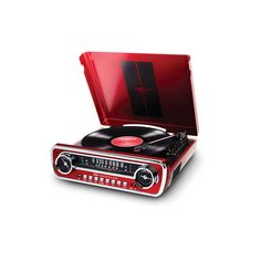 Are you or someone you know a pony car fanatic? Then check out this nifty product perfect for Mustang lovers. ION Audio's Mustang LP is a record player. Ford Mustang 1965, Mustang Cars, Turntable Record Player, Record Players, New Gadgets For Men, Muscle Cars, Ford Classic Cars, Classic Mustang, Entertainment System