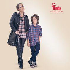 😎 😍 🎶 🎸 Free Rebel é o tema da moda com pegada rocker, que fez muito sucesso nas décadas de 80 e 90, períodos embalados pelo bom e velho rock´n´roll. Vale apostar no visual, que valoriza o jeans, a estampa xadrez e o couro ecológico. #LojasTenda, a sua moda. E da sua mãe também.  www.lojastenda.com.br/blog/ #LojasTenda #Ipatinga #GovernadorValadares #TeófiloOtoni #MontesClaros #Caratinga #moda #fashion #DiaDasMães