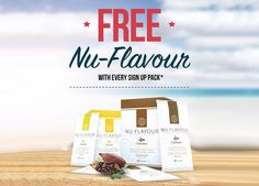 Add some Nu-Flavour™ to your day