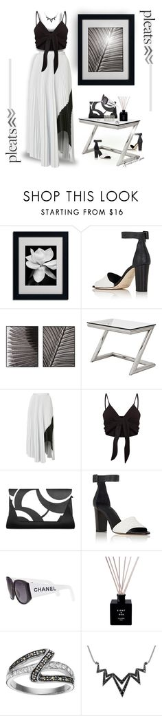 """""""Know When to Fold 'Em"""" by kansasmom ❤ liked on Polyvore featuring Zero + Maria Cornejo, JLA Home, Eichholtz, Alexis Mabille, Chanel, Silver Luxuries and Stephen Webster"""