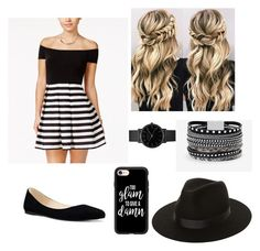 """""""#22"""" by sofiaesparrica ❤ liked on Polyvore featuring City Studios, Nine West, Lack of Color, White House Black Market, Casetify and ROSEFIELD"""