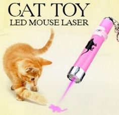 Cat Toy - Laser Pointer With Animated Mouse