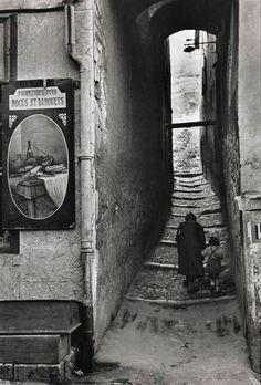 Briançon, France, 1952 Photo: Henri Cartier-Bresson