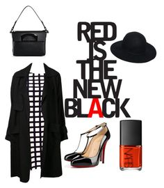 """..."" by lottiexd ❤ liked on Polyvore featuring moda, A.L.C., Christian Louboutin, ASOS ve NARS Cosmetics"