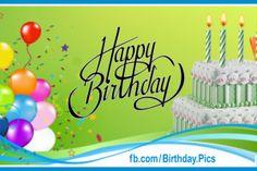 Balloons On Green Happy Birthday Card