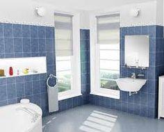 azulejos para baños en color azul - Buscar con Google