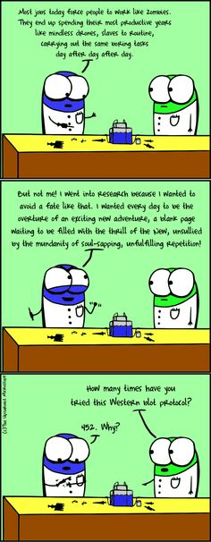 repetitive? moi? | Upturned Microscope