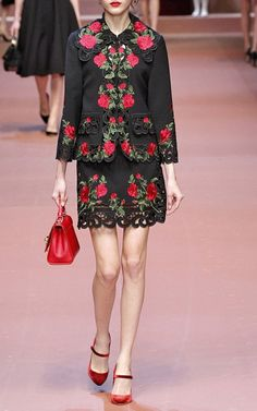Dolce & Gabbana Fall/Winter 2015 Trunkshow Look 52 on Moda Operandi