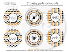 Chevron Printables $2.50 from penandpaperflowers for the Pastry Pedestal