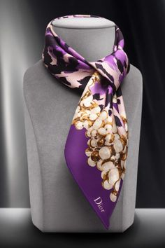STYLEeGRACE ❤'s Dior Scarf!