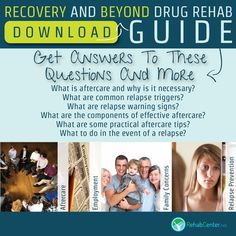 """DOWNLOAD: """" Recovery And Beyond Drug Rehab Guide """".  Putting the principles and lessons learned during drug rehabilitation into practice in the real world takes even more hard work, dedication and practice. http://www.rehabcenter.net/download-guide/"""