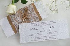 O Atelier Rosa Mia faz convites de casamento rústicos, clássicos, criativos e com muita personalidade.