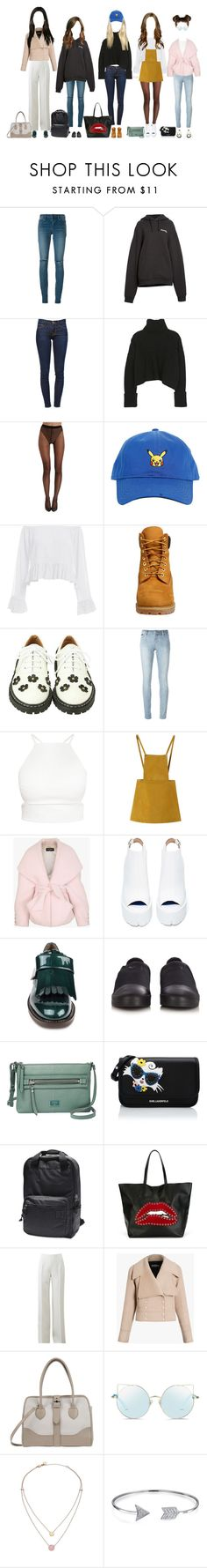 """""""Promise at Gimhae Internation Airport"""" by promise-official ❤ liked on Polyvore featuring Yves Saint Laurent, Vetements, Frame, Wolford, Timberland, Philipp Plein, Chicnova Fashion, Balmain, Jeffrey Campbell and Marni"""