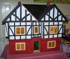 Little Canvas: My Mock Tudor dolls house