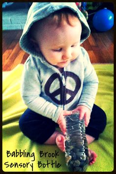 House of Burke: Sensory Saturday: Earth Day Sensory Bottles