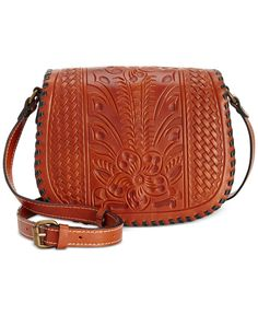 Patricia Nash Salerno Saddle Bag - Patricia Nash - Handbags & Accessories - Macy's