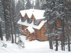 Silverton cabin rental - Entrance in Winter