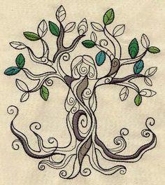 Tree goddess Urbanthreads.com