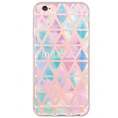 Geometric Tile Pattern TPU Ultra-thin Translucent Soft Back Cover for Apple iPhone 6s 6 Plus SE/5s/5 - USD $2.99 ! HOT Product! A hot product at an incredible low price is now on sale! Come check it out along with other items like this. Get great discounts, earn Rewards and much more each time you shop with us!