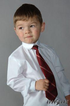 Chlapecká košile s kravatou AVANTGARD
