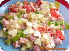 Salade de quinoa à la Grecque (WW ProPoints)
