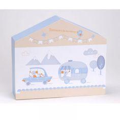 Casita de Recuerdos Timeo 26.00€ Una preciosa casita para guardar los primeros recuerdos del bebé. ¡Un emotivo regalo, para toda la vida! #regalosbebé #bebedeparis