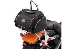 Perfect for the daily work commute. | Harley-Davidson Premium Touring Day Bag