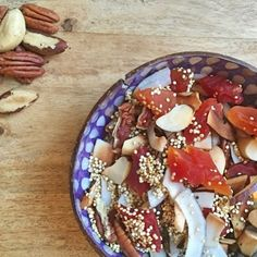 Ready for the #weekend? New Yorkers, stay #warm and cozy!  and try my #exotic #granola  #vegan #veganfood #vegansofNY #vegetarian #plantbased #glutenfree #dairyfree #healthyeating #quinoa #food52 #foodblogger #foodstagram #instafood #blogger_lu #crueltyfree #nyceats