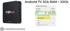 Android TV 3Gb RAM disponible por 34 - http://ift.tt/2u21bm6