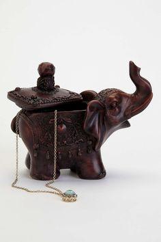 Elephant Stash Box OH MY GOD I WANT IT