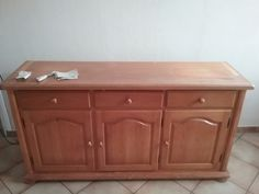 Le buffet avec un coup de jeune ! Buffet, Coups, Cabinet, Storage, Furniture, Home Decor, Ladybugs, 30 Years Old, Papillons