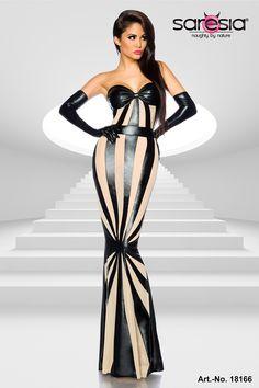 Wetlook-Kleid von Saresia