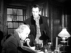 1951 Alastair Sim version of SCROOGE. My favorite movie of all time. | A christmas carol 1951 ...