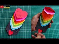 Diy Waterfall Card Cara Membuat Kartu Ucapan Ulang Tahun Untuk Pacar Kartu Ucapan Hati Youtube Kartu Kartu Valentine Ulang Tahun