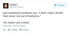 15+ Funny Tweets That Only Book Worms Will Understand