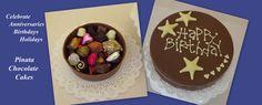 Piñata Chocolate Cake | Chocolate Rain Shop for Handmade Chocolates