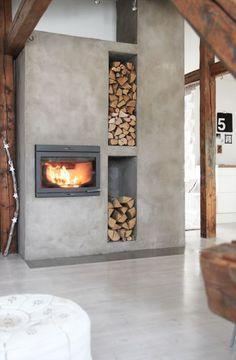 fireplace - design interior