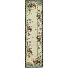 Safavieh Chelsea Collection HK56A-210 Hand-Hooked Wool Area Runner, 2-Feet 6-Inch by 10-Feet, Ivory Safavieh http://www.amazon.com/dp/B003R717YQ/ref=cm_sw_r_pi_dp_Yvtywb1FQW69B